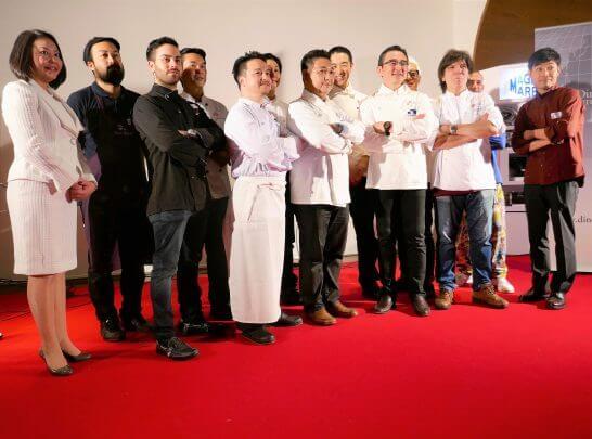 ダイナースクラブ イタリアン レストランウィーク 2017の記者発表会(12名のシェフ)