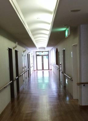 休暇村奥武蔵の廊下