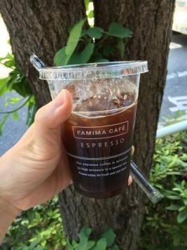 ファミリーマートのアイスコーヒー