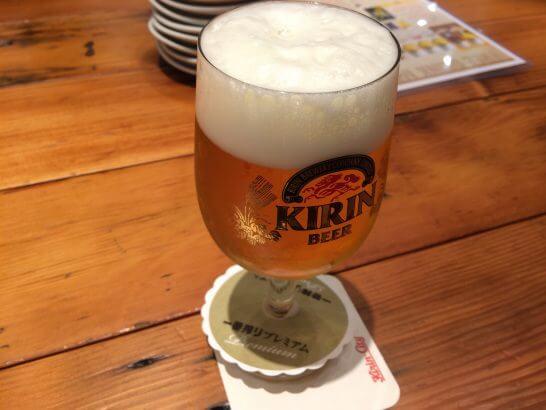 キリンシティのプレミアムビール