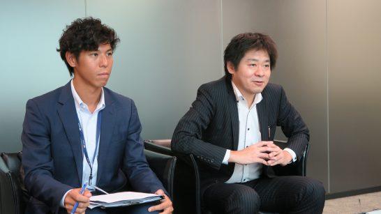 SBI証券 商品開発部の杉本部長、稲葉さん (3)
