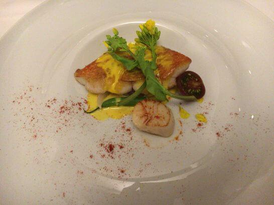 プリミ・バチのお魚料理