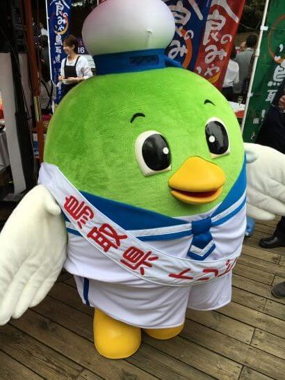 鳥取県のマスコットキャラクター「トリピー」