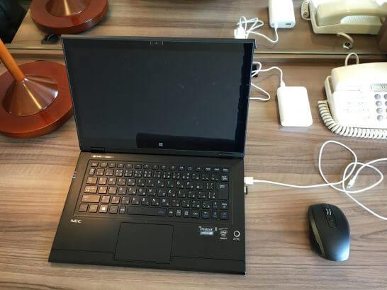NECのノートパソコン