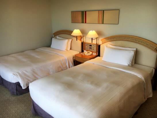 ホテルニューオータニ幕張のスーペリアツイン (ベッド)