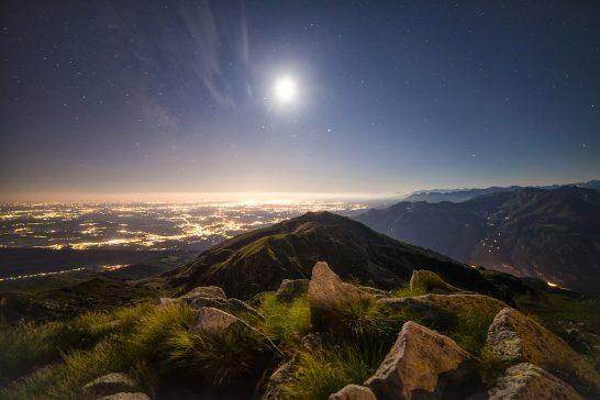 海外リゾートの夜景