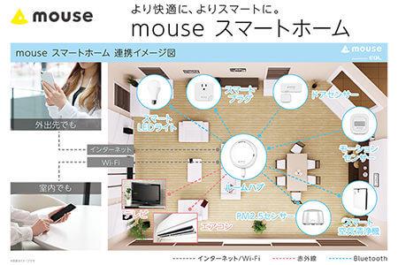 mouse スマートホーム スターターキットの説明