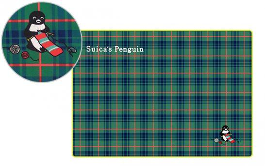 Suicaのペンギン ブランケット(チェック)