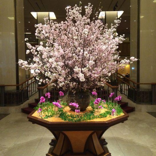 帝国ホテル東京のお花