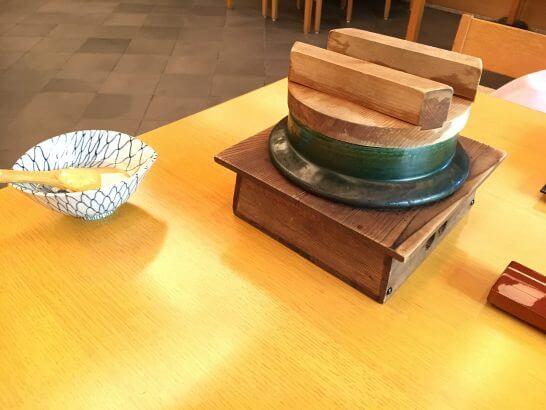 日本料理「はなの」の「なでしこ」の釜飯