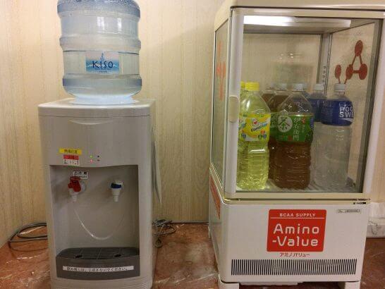 リーガロイヤルホテル東京のヘルスクラブの飲み物