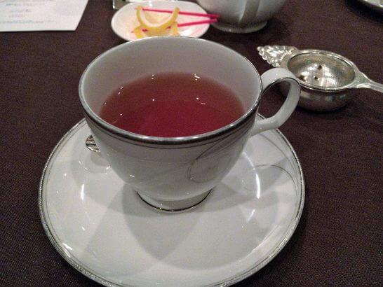 ベイ・ビューの紅茶