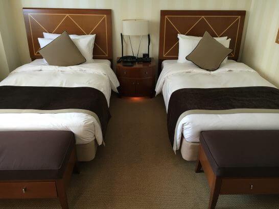 帝国ホテル大阪のベッド