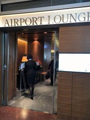羽田空港のエアポートラウンジ(3階)