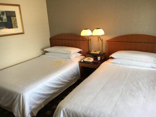 横浜ベイシェラトンホテル&タワーズのベッド