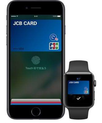 JCBカードとApple Pay