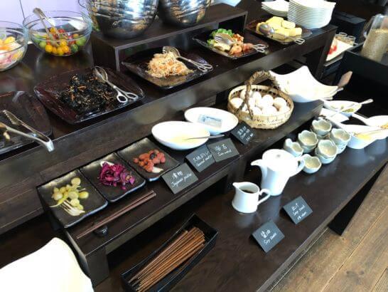 セントレジスホテル大阪の朝食(和食)