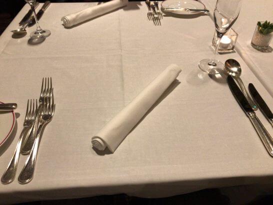 フレンチビストロ「ル ドール」のテーブル