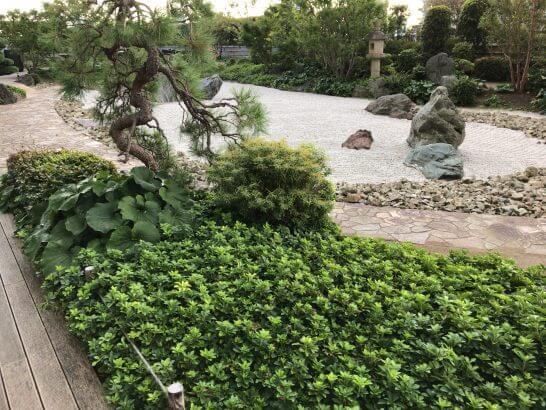 セントレジス大阪の日本庭園