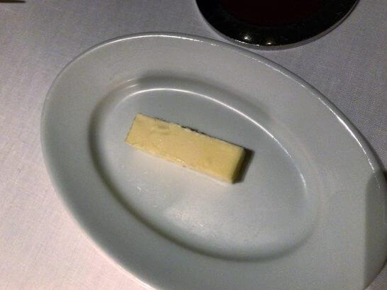 ハイアットリージェンシー京都「THE GRILL」のバター