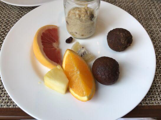 セントレジスホテル大阪の朝食のフルーツ