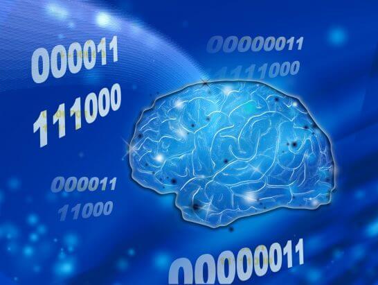 人工知能(AI)のイメージ図