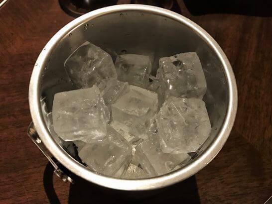 セントレジスホテル大阪の氷