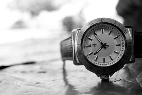 白黒の時計