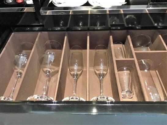 セントレジス大阪のグラス