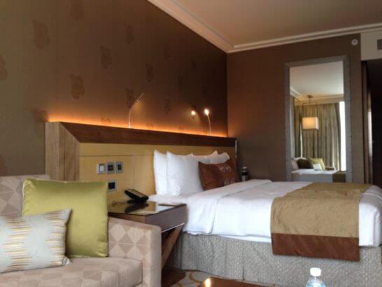 シンガポールのマリーナベイサンズホテル