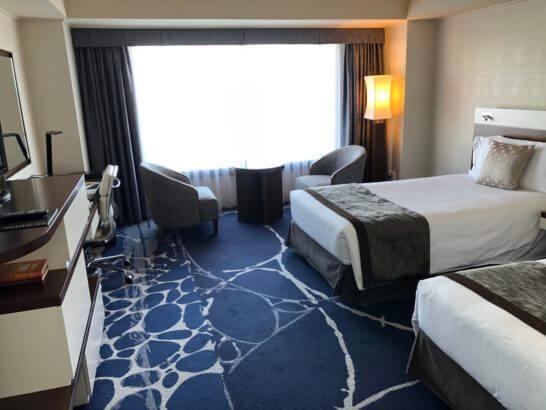 ヨコハマインターコンチネンタルホテルのツインルーム