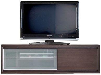 テレビ台 コーナー[コドウ] 120cm ダークブラウン