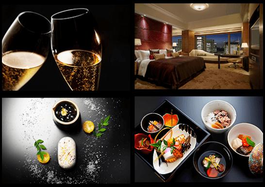 ダイナースクラブ プレミアムカードのシャングリ・ラ ホテル 東京 年末年始特別宿泊プランのイメージ