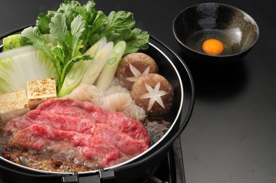 佐賀牛しゃぶしゃぶ・すき焼きの調理例