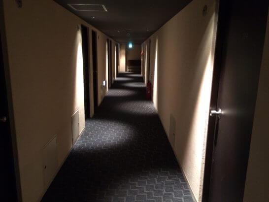 センターホテル東京 (廊下)