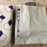 東急百貨店の紙袋