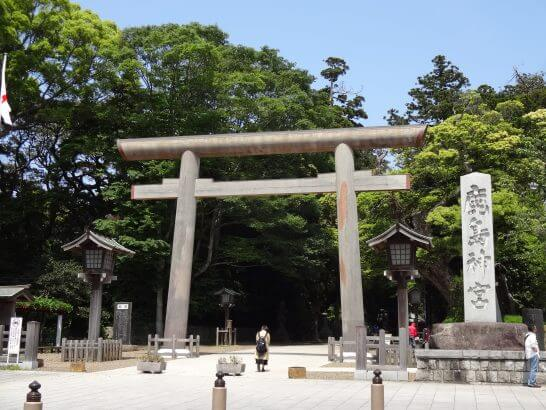 鹿島神宮の大鳥居