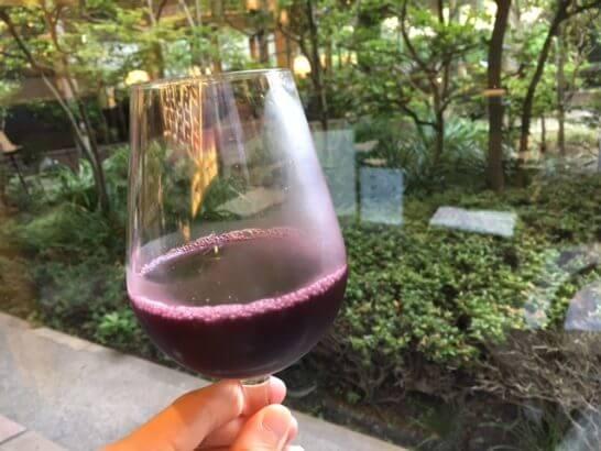 ホテルニューオータニ幕張 千羽鶴の赤ワイン