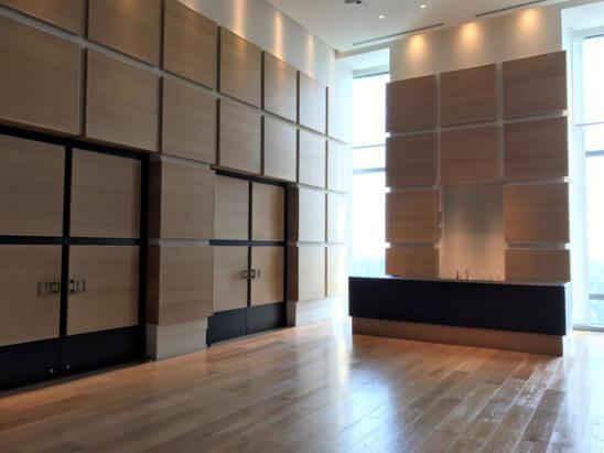 アンダーズ東京のTOKYOスタジオの入口