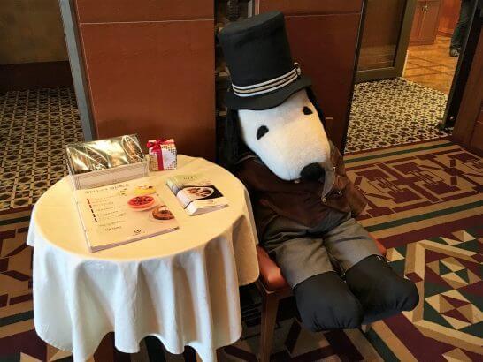 帝国ホテル大阪のスヌーピー