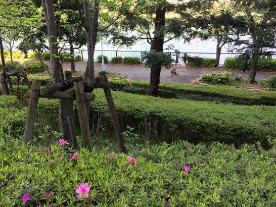 帝国ホテル大阪の前の川