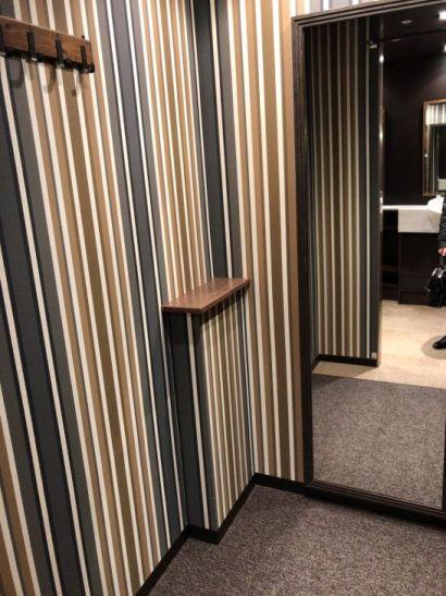 渋谷ちかみちラウンジ (男性用ドレッシングルーム)の更衣室