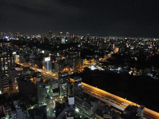 阪神高速の夜景