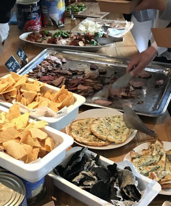 Mr.FARMER 駒沢オリンピック公園店のレセプションパーティーの食事 (1)