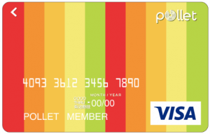 ポレットカード(Pollet Visa Prepaid)