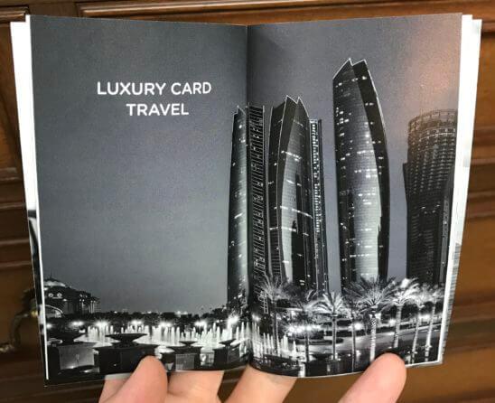 LUXURY CARD TRAVEL