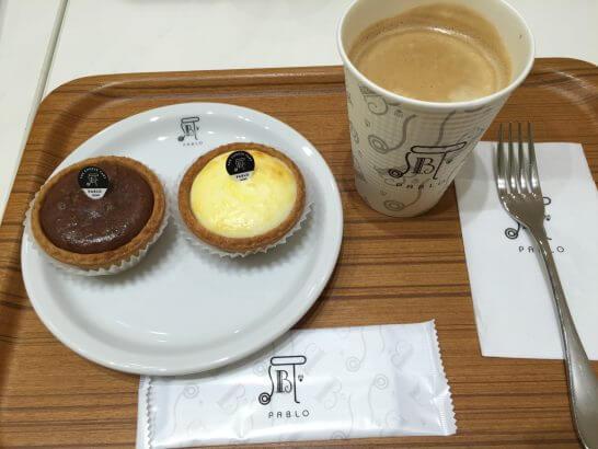 パブロのチーズケーキ・コーヒー