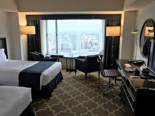 横浜グランドインターコンチネンタルホテルの部屋