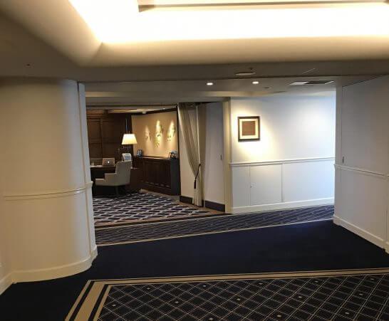 横浜グランドインターコンチネンタルホテルのクラブラウンジ
