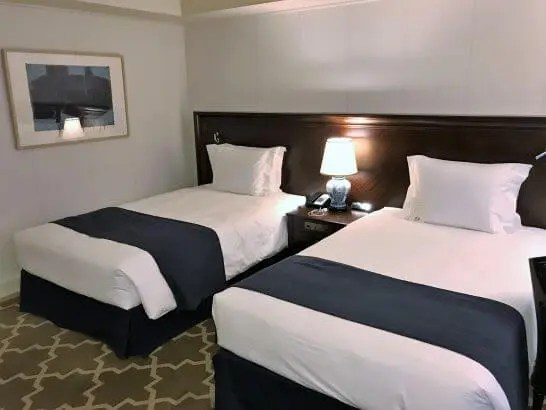 横浜グランドインターコンチネンタルホテルのベッド (2)